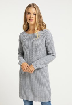 usha - Vestido de punto - grau melange