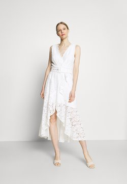 Guess - RANDA DRESS - Cocktail dress / Party dress - true white