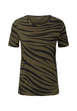 mine to five TOM TAILOR - T-Shirt print - olive zebra design