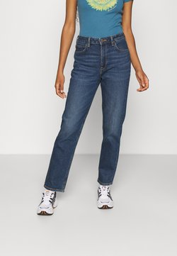 Lee - CAROL - Straight leg jeans - dark ruby