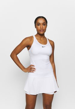 Nike Performance - DRY TANK - Funktionströja - white/black