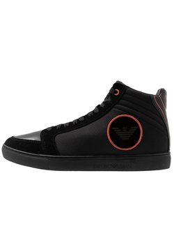 Emporio Armani - Sneaker high - black/ginger