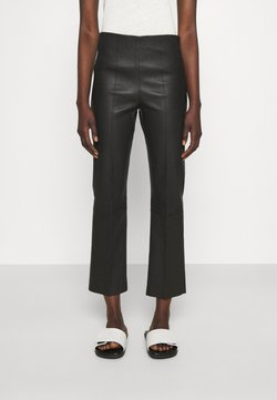 By Malene Birger - FLORENTINA - Pantalon en cuir - black