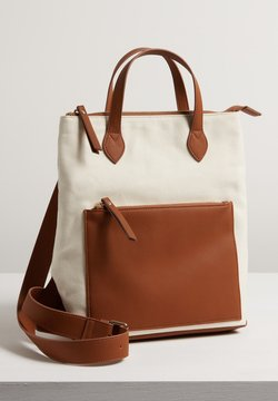 Oliver Bonas - BADEN CANVAS MEDIUM - Reppu - tan