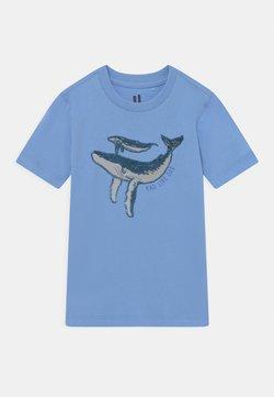 Cotton On - DOWNTOWN SHORT SLEEVE TEE - T-Shirt print - dusk blue
