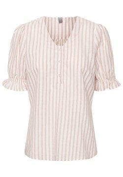 Culture - Bluse - red stripe