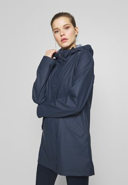 CMP - RAIN JACKET FIX HOOD - Outdoorjacke - black blue