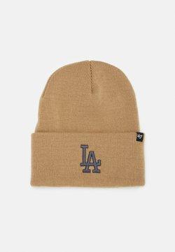'47 - LOS ANGELES DODGERS HAYMAKER CUFF UNISEX - Bonnet - khaki