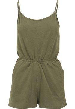 Urban Classics - LADIES SHORT SPAGHETTI - Jumpsuit - olive