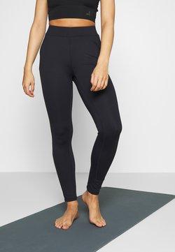 Curare Yogawear - LONG PANTS POCKETS - Collants - midnight blue