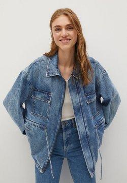 Mango - COLETTE - Veste en jean - medium blue