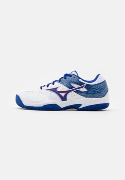 Mizuno - BREAK SHOT 2 CC - da tennis per terra battuta - reflex blue/white/diva pink