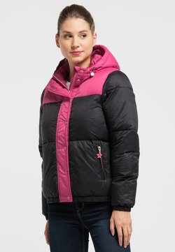 myMo - Winterjacke - pink/black