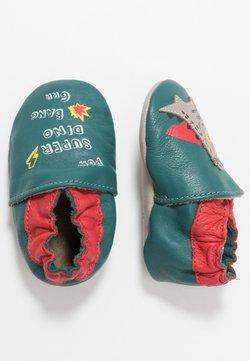 Robeez - SUPER DINO - Chaussons pour bébé - vert/fonce/rouge