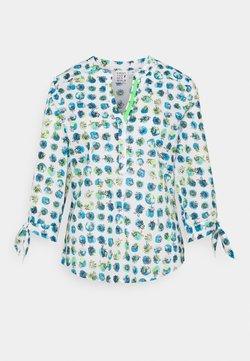 Emily van den Bergh - Pitkähihainen paita - blue/green
