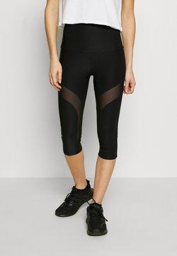 Guess - LEGGINGS - Pantalon 3/4 de sport - jet black