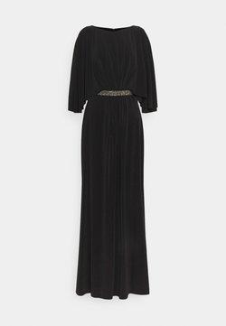 Lauren Ralph Lauren - CLASSIC LONG GOWN TRIM - Occasion wear - black