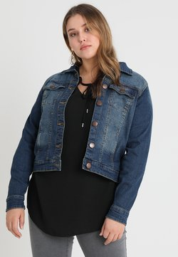 Zizzi - LONG SLEEVE - Denim jacket - blue denim
