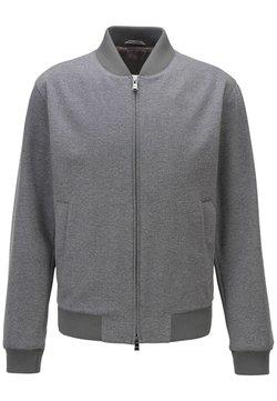 BOSS - NOLWIN - Zip-up hoodie - silver