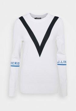 J.LINDEBERG - ADRIENNE GOLF - Jumper - white
