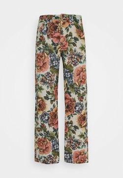 Jaded London - FLORAL JACQUARD SKATE - Jeans Relaxed Fit - multi