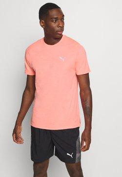 Puma - RUN FAVORITE TEE - T-Shirt print - nrgy peach heather