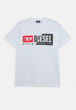 Diesel - UNISEX - T-shirt print - bianco