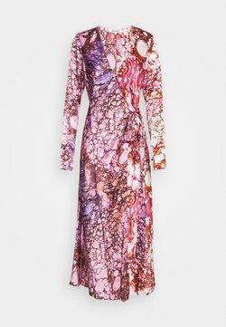 Diane von Furstenberg - TILLY - Robe longue - marble ivory/ marble guaiava