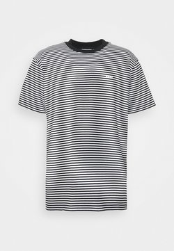 Obey Clothing - IDEALS STRIPE TEE - T-shirt con stampa - black