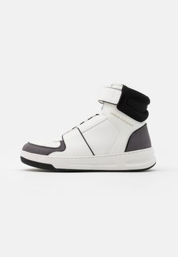 Armani Exchange - Sneaker high - white/grey