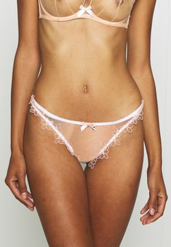 Agent Provocateur - MAYBELLE THONG - String - white/peach