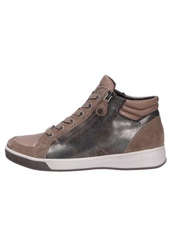 ara - COMFORT - Sneakersy wysokie - taigamarronemetallic