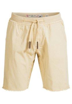 INDICODE JEANS - CARVER - Jeansshort - beige