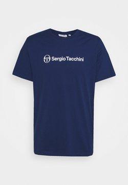 Sergio Tacchini - ABERIS  - T-shirt con stampa - blue depths