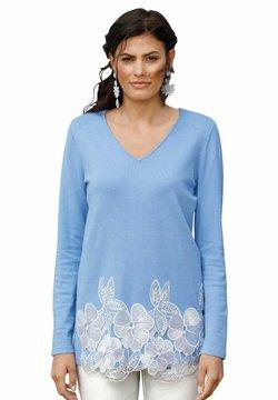Amy Vermont - Strickpullover - blau,weiß