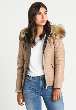 Oakwood - FURY - Leren jas - dark beige