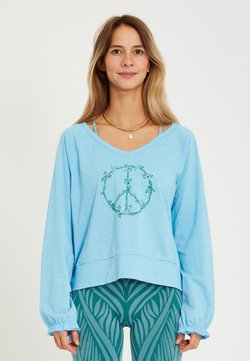 Yogasearcher - LONG SLEEVED  - Langarmshirt - light blue