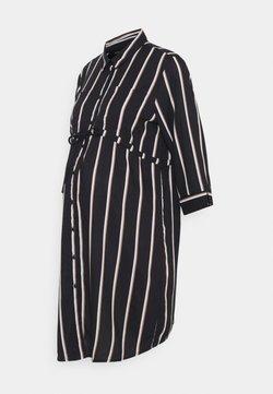 ONLY - OLMTAMARI DRESS - Vestido camisero - black
