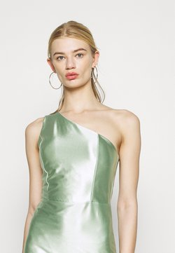 WAL G. - SKYLER ONE SHOULDER MID DRESS - Cocktailkleid/festliches Kleid - mint green