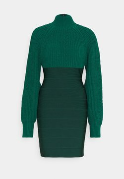 Hervé Léger - Shift dress - viridian