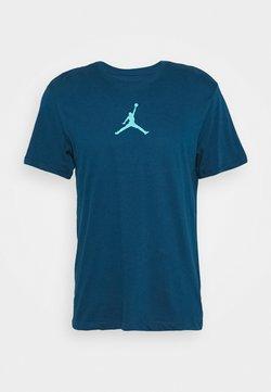 Jordan - JUMPMAN CREW - Printtipaita - valerian blue/cabana