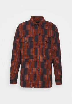 Henrik Vibskov - MATCH BOX - Hemd - dark orange