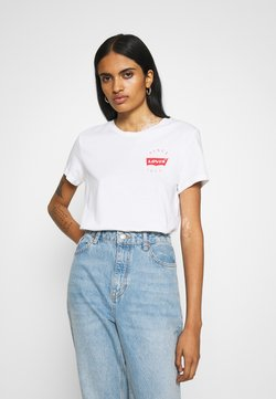Levi's® - THE PERFECT TEE - T-shirt con stampa - white