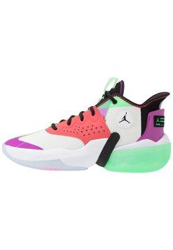 Jordan - JUMPMAN DIAMOND 2 MID - Chaussures de basket - white/black/hyper violet/flash crimson/electro green