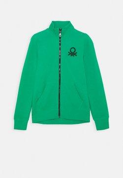 Benetton - Sweatjacke - green