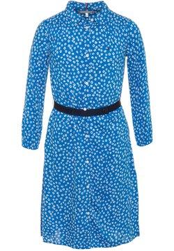 Tommy Hilfiger - DITSY FLOWER PRINT DRESS  - Blusenkleid - blue