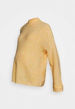 MAMALICIOUS - MLMERVE - Jersey de punto - elfin yellow melange