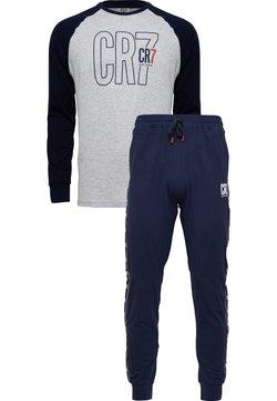 Cristiano Ronaldo CR7 - SET - Nattøj bukser - grau/blau