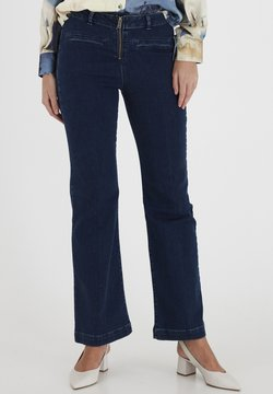 Dranella - DRLARRIET 3 TALIA  - Jeans Slim Fit - mid neptune blue