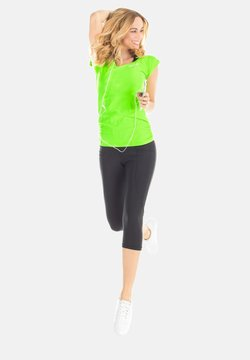 Winshape - T-Shirt print - neon grün